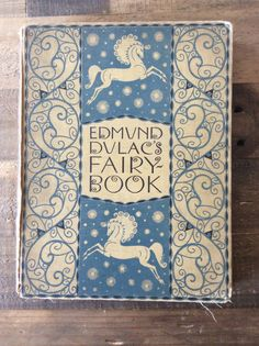 First edition, Edmund Dulac's Fairy Book, Published in Great Britain 1916, Fairy Tales of the Allied Nations, tipped in color plates, rare