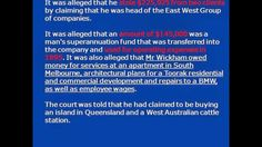 NEWS 1998 - Henri DUPONT aka Philip WICKHAM - CRIMINAL CHARGES IN VICTORIA