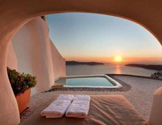 Visit the Kapari Natural Resort in Greece for one of the most relaxing vacations of your life. Enjoy... - Hotel Kapari Natural Resort Santorini / Facebook