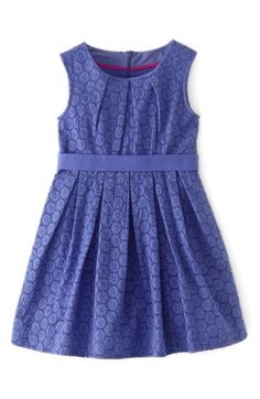 Mini Boden 'Broderie' Party Dress (Toddler Girls, Little Girls & Big Girls) | Nordstrom