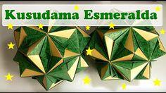 Kusudama Star Planet & Stellar Flare by Natalia Romanenko - Yakomoga Origami…