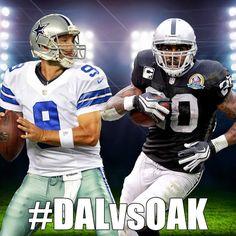 #DALvsOAK: 10pm ET Cowboys got you nexts time Raider Fakers