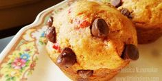 Chocolate Cherry Cordial Muffins Recipe - littleindiana.com