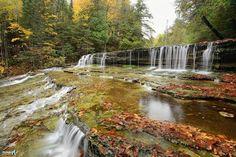 Lower AuTrain Falls, Mi.