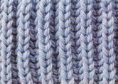 English Fishermans Rib a nice traditional rib knitting stitch Knitting Wool, Knitted Poncho, Knitting Stitches, Baby Knitting, Knitting Patterns, Scarf Patterns, Poncho Sweater, Punto Smok, Edge Stitch