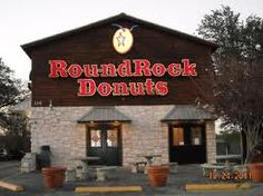 Round Rock Texas World Famous Donuts - Round Rock Doughnuts, made from the original owner's recipe, are created with as much care and finesse as they were years ago. The yeast-risen doughnut originates from a bread-like dough; its distinct yellow color (from fresh eggs) immediately sets it off from any other doughnut.