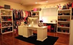 Dream walk in closet!