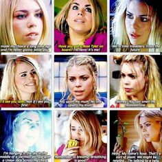 Reasons to love Rose Tyler: I'm talking to a twig...