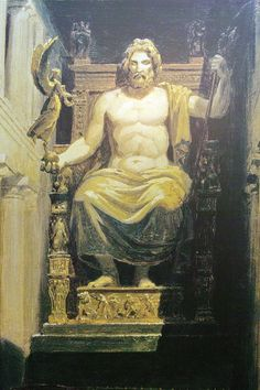The Research & Ramblings of a Blonde INTJ: Zeus Statue at Olympia