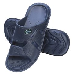 bedd19be0d15 ROXONI Men s Comfortable Lightweight Slide Sandals  Great for Indoor and  Outdoor Use