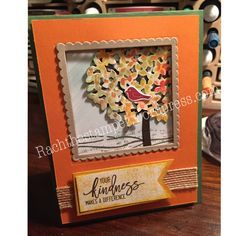 RachTheStamper.wordpress.com    Stampin Up; Thoughtful Branches stamp set; Beautiful Branches framelits