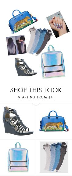 """Shades of Blue and Grey"" by donmantonio on Polyvore featuring Michael Antonio, Gucci and Skinnydip"