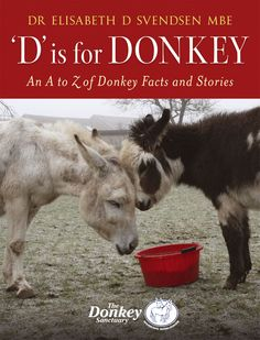 D is for Donkey by Dr Elisabeth D Svendsen MBE   Quiller Publishing. This beautifully illustrated anthology contains stories of many donkeys – the majority of whom have been taken into care by various sanctuaries throughout Europe, as well as some who have been cared for by their teams who work overseas. Throughout the book we learn about Naughty Face, the children who have benefited from the work of The Elisabeth Svendsen Trust for Children & Donkeys and lots of little known facts. #donkey