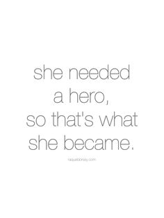 Definition of a hero?