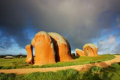 'Murphy's Haystacks, Australia' - photo by tim phillips photos, via Flickr;  Steaky Bay, South Australia, Australia;  Rock formations that got their name because they resemble haystacks... which were on property owned by Mr. Murphy.