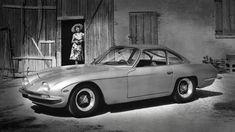 1964年に120台が生産された「350GT」。GTVから車体にいくつかの修正が行われ、エンジンは3.5リッター12気筒で、最高出力は320HP