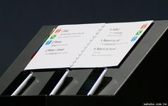 Steve Jobs' presentation notes before every Apple event. Even his notes looked amazing !