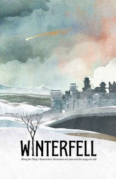"""Like, Winterfell probably doesn't need a tourism campaign but this would be a good one. 