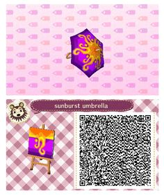 Sunburst Umbrella by Quirkberry - Animal Crossing: New Leaf