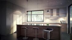 Zone C - Modèle A - Maison contemporaine style cubique