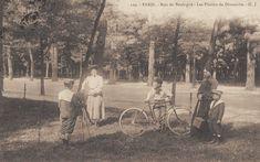 Les plaisirs du dimanche au Bois de Boulogne, vers 1900. Dont prendre quelques photos...