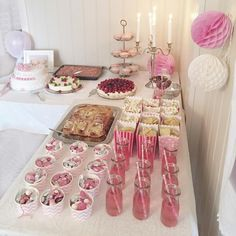 Ballerina Baby Showers, Shower Tips, 18th Birthday Party, Pin On, Baby Christening, Food Decoration, Pink Parties, Festival Wedding, Wedding Desserts