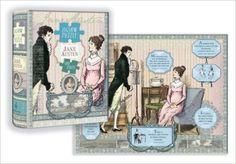 Jane Austen Puzzle: 500-Piece Puzzle - Potter Style -