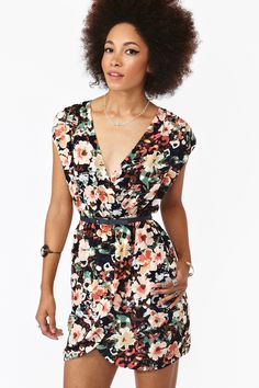 Posy Wrap Dress - shipped today! perfect date dress, cant wait for it :)