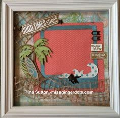 Seaside Designed Decor Shadow Box