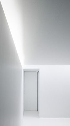Image 22 of 31 from gallery of Office AST 77 + Apartment / AST Photograph by Steven Massart Minimalist Architecture, Light Architecture, Minimalist Interior, Architecture Details, Interior Architecture, Cove Lighting, Interior Lighting, Lighting Design, Hidden Lighting