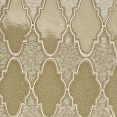 Splashback Tile Roman Selection Iced Light Cream Arabesque 12-1/4 in. x 13-3/4 in. x 8 mm Glass Mosaic Tile-RMNICDLTCRMARB - The Home Depot