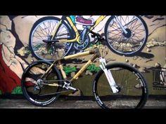 mountain bike in bambù: l'alternativa del carbonio e all'alluminio