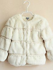 Solid Color Fur Coat Girl's – EUR € 32.17