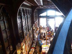 Lello e Irmao: wunderschöner Bücherladen in Porto #lello #Bücherladen #porto #harrypotter