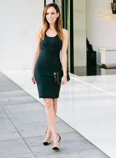 386ee563dd52 How to Wear a Sporty Dress – Sydne Style Day to Night in a Sporty Little  Black