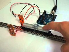 Arduino Controlled Model Trains: Train Detector Module with IR