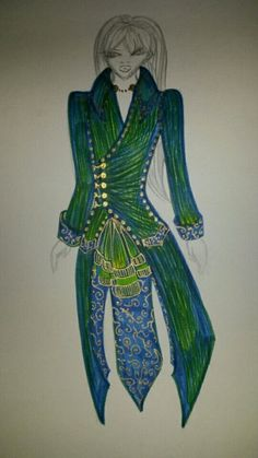Royal Peacock Coat- Peacock Collection by Rasarani