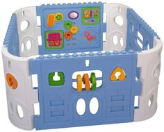 Pavlov'z Toyz Electronic Interactive Activity Baby Playpen   Pavlov'z Toyz Electronic Interactive Activity Baby Playpen Keep baby safe, having fun and learning in this sturdy portable play pen. Easy to assemble either at home or on the go. Can be placed on the floor or outside. Your 12 month to 3 year old will be occupied with the activities provided. Which sound matches the picture in the book? Dial a phone, move the gears, look in the mirror, tell time on the clock. There is enough..