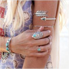 Arrow Boho Arm Bracelet