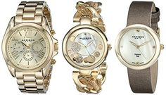 Quick and Easy Gift Ideas from the USA  Akribos XXIV Women's AK738YG Analog Display Swiss Quartz Gold Watch Set http://welikedthis.com/akribos-xxiv-womens-ak738yg-analog-display-swiss-quartz-gold-watch-set #gifts #giftideas #welikedthisusa