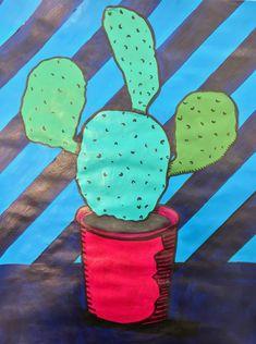Roy Lichtenstein Pop Art School Project.
