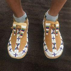 Native American Models, Native American Moccasins, Native American Clothing, Native American Regalia, Native American Beadwork, Beaded Shoes, Beaded Moccasins, Powwow Regalia, Bead Sewing