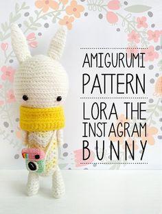 Amigurumi Crochet Pattern Amigurumi Bunny Pattern by krokrolamb