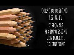 Corsi di disegno, lez.n.15 La tecnica mista:pastelli ed acrilico (Arte per Te) - YouTube