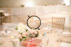 Real Wedding: Romantic Globe Wedding