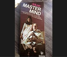 1975 Deluxe MASTER MIND Board game by Invicta Leicester