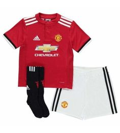 adidas Manchester United Home Mini Kit 2017 2018 Infant Size Years for sale online Manchester United Shirt, Football Kits, 6 Years, Infant, Polo Ralph Lauren, The Unit, Adidas, Mens Tops, Shopping
