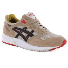 Asics Gel-Saga Shoes - Off White/dark Brown