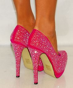 pink heels,pink high heels,pink shoes,pink pumps, fashion, heels, high heels, image, moda, photo, pic, pumps, shoes, stiletto, style, women shoes (9) http://imagespictures.net/pink-heels-image-12/