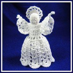 1500 Free Amigurumi Patterns: Little Bobbles Angel Free Crochet Pattern